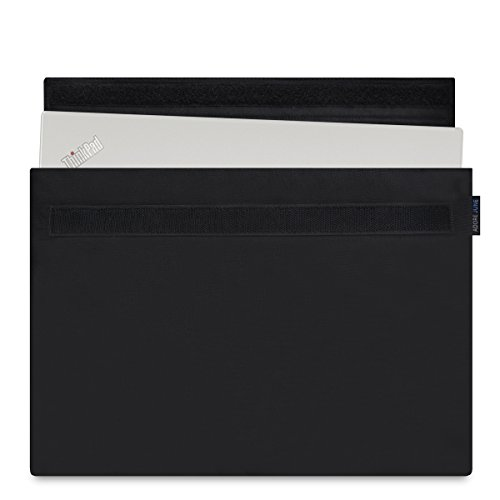 Adore June 14 Zoll Classic Hülle kompatibel mit Lenovo ThinkPad X1 Carbon 2018 2017, Laptop-Tasche aus widerstandsfähigem Stoff, Schwarz