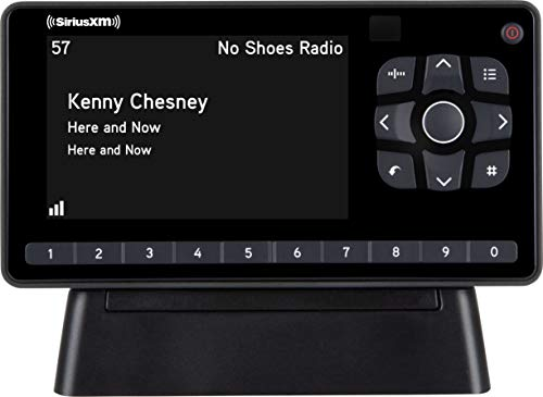 SiriusXM SXEZR1H1 Onyx EZR Satellite Radio with Home Kit, Receive Free 3 Months Service with Subscription – Enjoy SiriusXM in your Home or on Your Powered Audio Speakers
