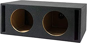 Absolute USA VEGD10 Dual 10-Inch Slot Ported Subwoofer Enclosure 3/4-Inch MDF