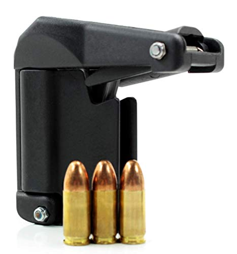 Sylvan Raptor Universal Pistol Speed Loader, Designed for Magazines from .380, 9mm to 45 ACP