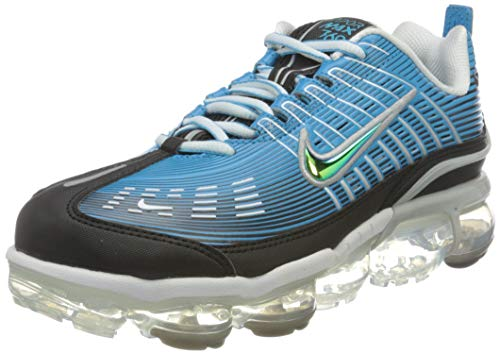 Nike AIR Vapormax 360, Chaussure de Course Homme, Laser Blue/Black-White-Lt Smoke Grey-Reflective Silver, 42 EU