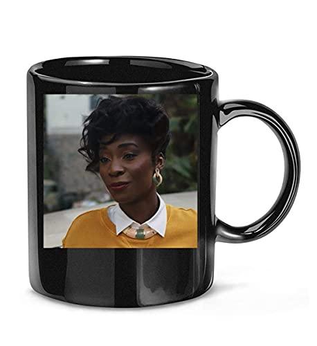 N\A Enfermera Rita (Angelica Ross) en American Horror Story 1984 Temporada 9 Película 8 Taza de café para Mujeres y Hombres Tazas de té