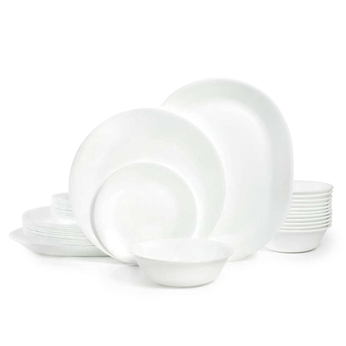Corelle Winter Frost White Dinnerware Set (38-Piece, Service for 12)