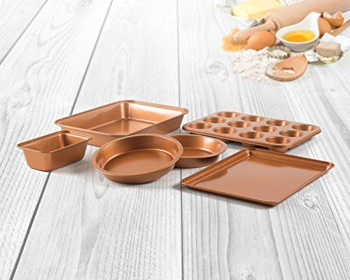Copper Bakeware Set, Assorted