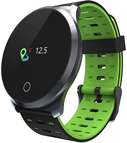 JIAJBG Fitness Tracker Color Pantalla Smart Watch L5, Rastreador de Fitness Impermeable, Monitoreo de la Presión Arterial de Ritmo Cardíaco Calorie/Contador Smart Sports Watch - p