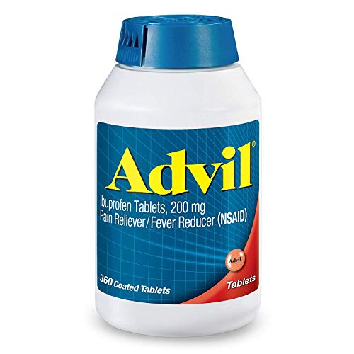 Advil Pain Reliever/Fever Reducer 200mg Ibuprofen pos3re Pack of 1 Pack 360 ct Each