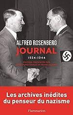 Journal 1934-1944 d'Alfred Rosenberg