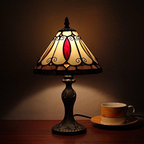 TOYM 8 pouces Tiffany Cafe Bar Club de KTV éclairage décoratif bureau verre restaurant bar à la main lampe Tiffany