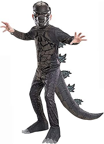 XIAOJUN Disfraz de Godzilla para Niños, Juego de Roles, Fiesta navideña, 3-14