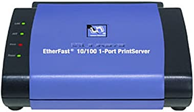 Cisco-Linksys PPSX1 EtherFast 10/100 1-Port PrintServer