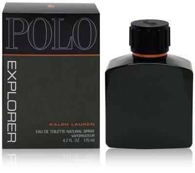 Polo Explorer by Ralph Lauren for Men, Eau De Toilette Natural Spray, 4.2 Ounce