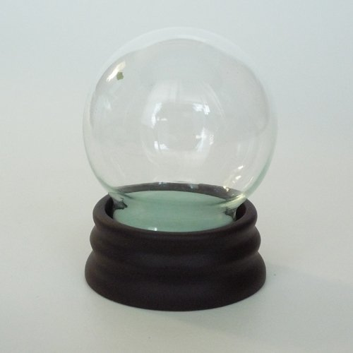 Snow dome do-it-yourself kit glass powder with size M (japan import)