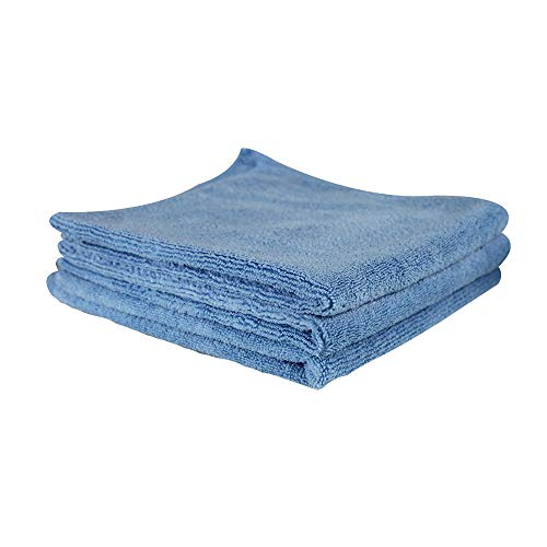 Chemical Guys MICBLUE03 Workhorse Professional Microfiber Towel, Blue