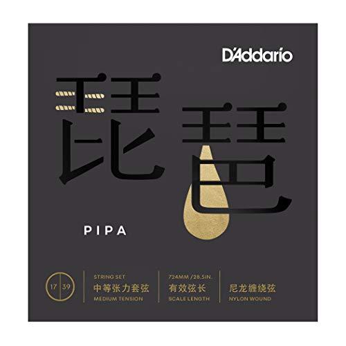 D'Addario ダダリオ 琵琶弦 (Pipa弦) Medium Tension PIPA01 【国内正規品】