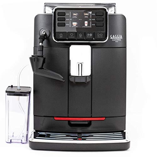 Gaggia Cadorna Milk Super-Automatic Espresso Machine, Black, Medium