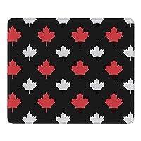 マウスパッド マウスパット PCマット Mouse pad デスクマット カナダの旗 デスクトップパソコン ノートパソコン ラップトップマット ゲーミング オフィス用 ゲーム用 滑り止め レーザー 光学マウス対応 30cm×25cm