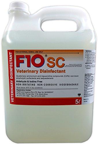 F10SC, detergente disinfettante super concentrato