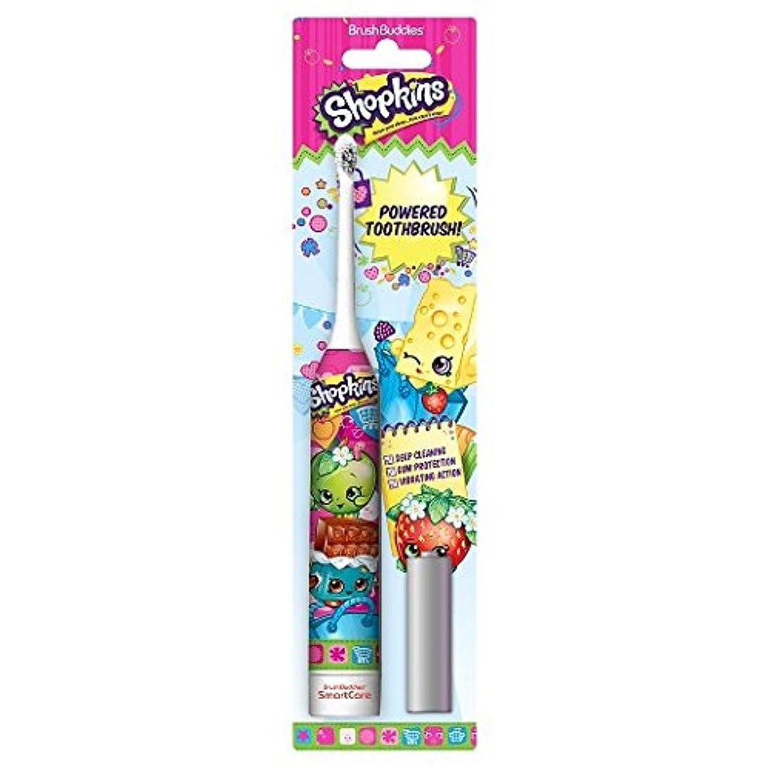 カビ礼儀用心深いBrush Buddies Shopkins Sonic Powered Toothbrush ソニックパワード電動歯ブラシ [並行輸入品]