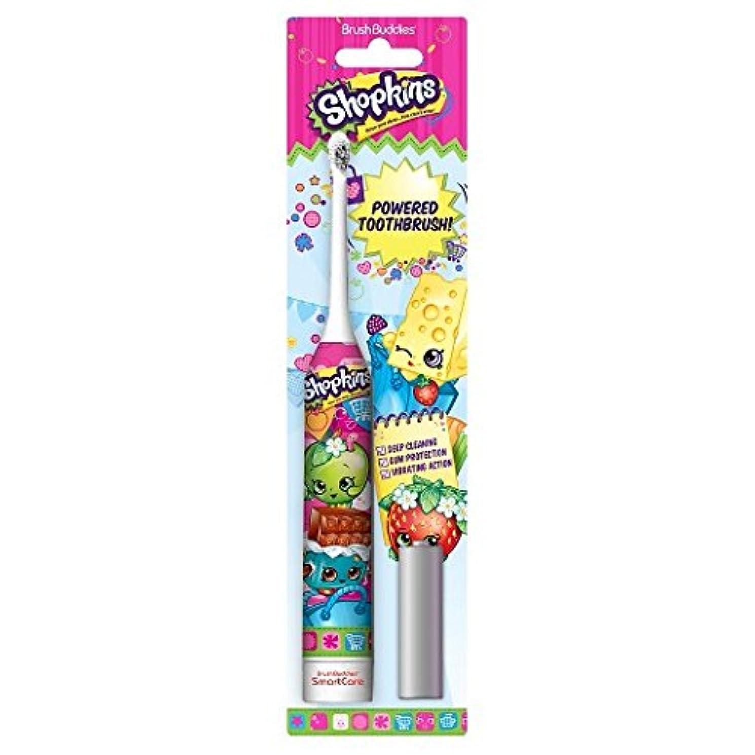 退屈急行する全国Brush Buddies Shopkins Sonic Powered Toothbrush ソニックパワード電動歯ブラシ [並行輸入品]