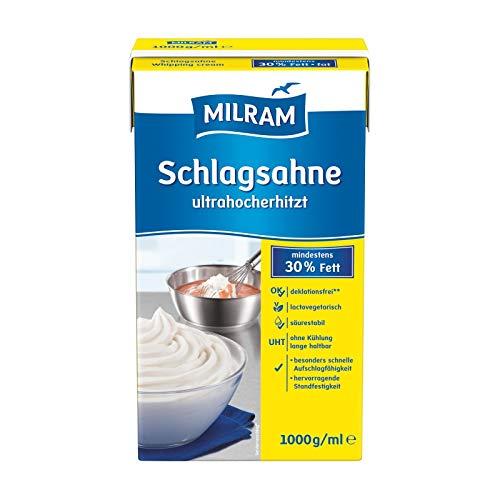 Milram - Schlagsahne ultrahocherhitzt 30% 6er Pack (6x1000g)