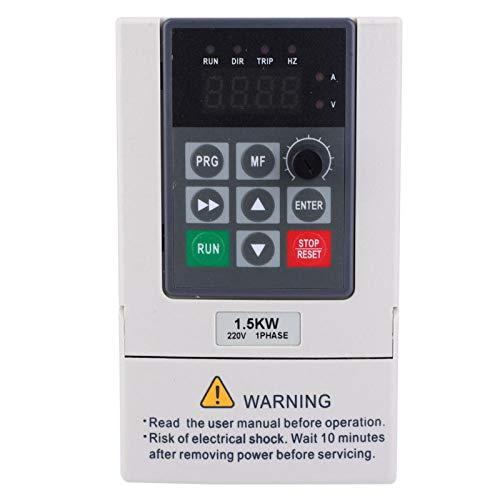 Inversor monofásico, inversor convertidor de frecuencia monofásico de 1,5 kW, inversor convertidor de control de calidad de alta velocidad para el hogar