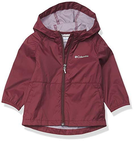 Columbia Switchback II - Chaqueta impermeable para niña - rojo - Medium