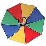YAMI 両手が使える 釣り傘 日傘 撮影 屋外作業に最適! ガーデニング 釣り 帽子傘