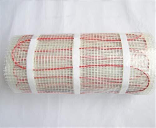 Calefacción de suelo de invierno Colchoneta calefactora de suelo radiante de 230 V 150 w por m2 for baldosas, cerámica, porcelana, pisos de piedra, etc. Estera calefactora de cable de PVC de 150 W / m
