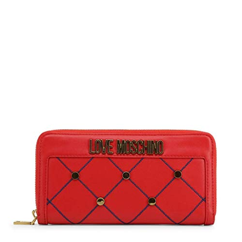 Love Moschino Contrast Detail Purse in Red - red - NOSIZE