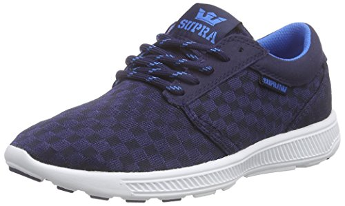 Supra Unisex-Erwachsene HAMMER RUN Low-Top, Blau (NAVY - WHITE NVY), 40