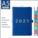 BSNRDX Cuadernos ejecutivos, Cuaderno con rayas A5 Cuaderno...