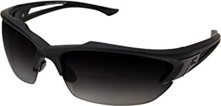Edge Eyewear Acid Gambit 2 Lens Kit Matte Black Frame/Polarized Gradient Smoke, Clear Vapor Shield Lenses