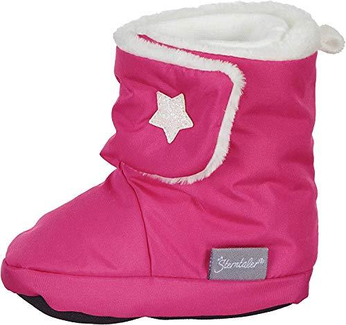 Sterntaler Jungen Mädchen Baby-Schuh Stiefel, Rosa (Magenta 745), 21/22 EU