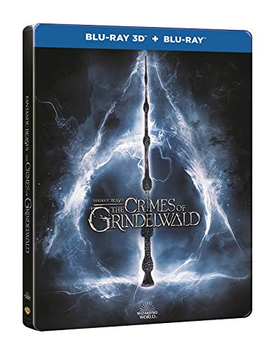 Fantastic Beasts The Crimes Of Grindelwald Steelbook 3D + 2D Blu Ray [Nordic Import]