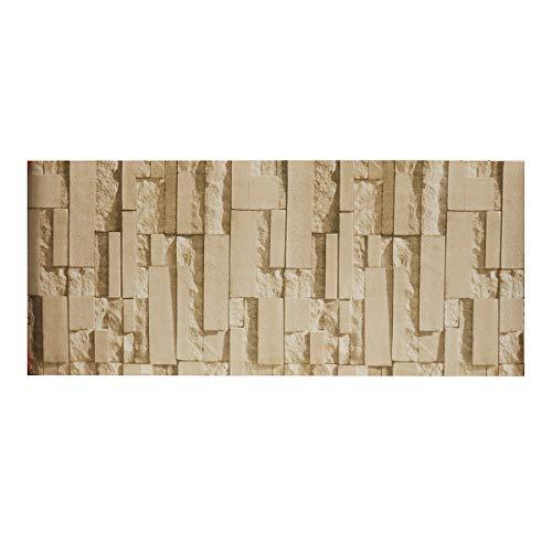 MASUNN Luxe stenen stenen stenen 3D behang woonkamer slaapkamer moderne muurschildering Roll muur achtergrond Sticker