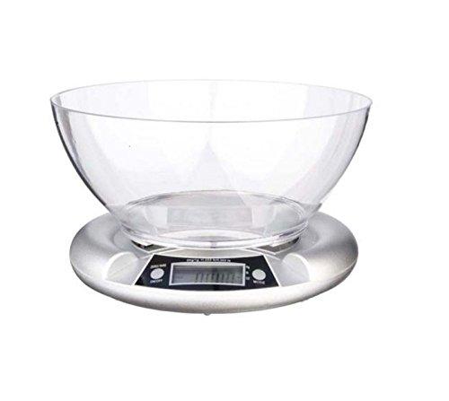 bilancia da cucina digitale 5501 silver 5kg/1g eva collection