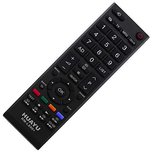 Ersatz Fernbedienung Remote Control für Toshiba TV LED LCD 32HL933G 32L2331D 32L2433DG - afstandsbediening, télécommande, Kumanda, Plug & Play