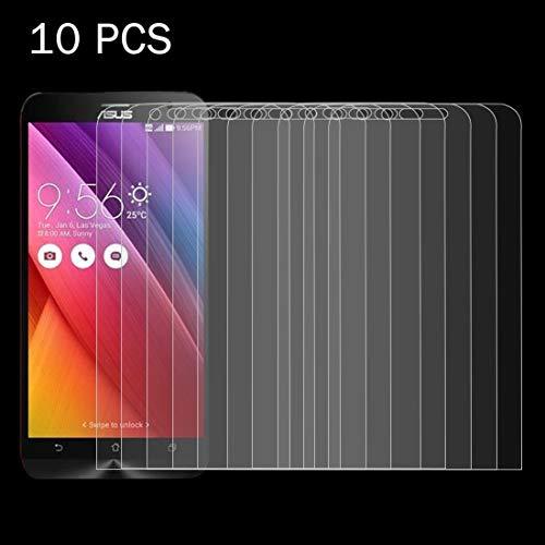 Protector de LYNHJCscreen Accesorios de telefonía móvil 10 PCS for ASUS Zenfone Go / ZC500TG 0.26mm 9H Dureza Superficial 2.5D a Prueba de explosiones de la Pantalla de Cristal Templado de Cine