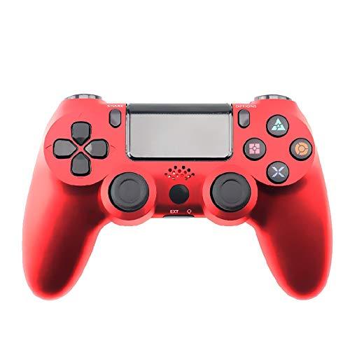 PS 4Controller Wireless Game Board, geeignet fürPlaystation Dualshock 4Bluetooth Joystick Vibration Game Board, verwendet fürPS4 Pro Silm PS3 PC-Spiel rot