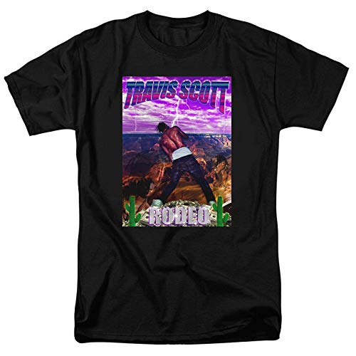 JJZHY El Rapero Travis Scott Astroworld Trend Trend 3D Print Cuello Redondo Unisex,UNA,XL