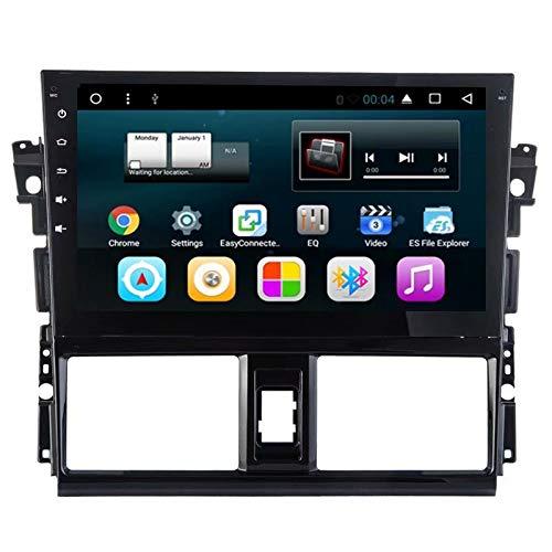 TOPNAVI 10.1 Pouce 2Din Android 7.1 Stéréo de Voiture pour Toyota Vios 2014 2015 2016 Auto Radio Navigation GPS WiFi 3G RDS Lien Miroir FM AM Bluetooth Audio Vidéo