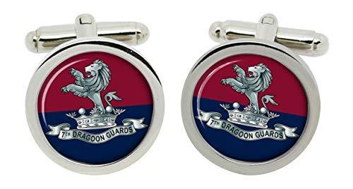 Gift Shop 7th Dragoner Guards, Britische Armee Manschettenknöpfe in Box