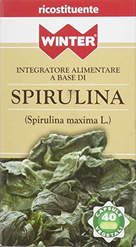 Winter - Integratore Alimentare Naturale a base di Spirulina Maxima L - confezione da 40 capsule