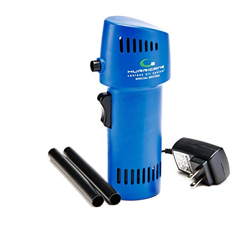 Canless Air - The O2 Hurricane 220+ MPH Compressed Air Special Edition - Electronics Cleaner 2020 Version