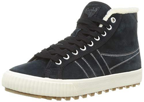 Gola Damen Nordic High Sneaker, Black, 37 EU