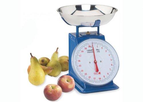 bilancia da cucina multiuso blu 20kg/100g eva collection