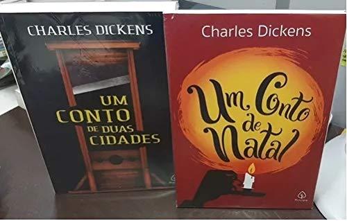 Kit 2 Livros - Um Conto De Duas Cidades / Um Conto De Natal - Charles Dickens