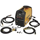 Klutch MIG Welder with Multi Processes - Inverter, MIG, Flux-Cored, Arc and TIG, 120V, 30-90 Amp Output, Model Number MP140Si