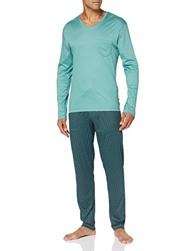 CALIDA Herren Casual Superlight Pyjamaset, Laurel, S