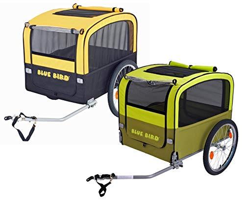 Hunde-Anhänger Blue BIRD-20-GRÜN/HELLGRÜN